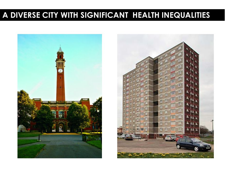 A DIVERSE CITY WITH SIGNIFICANT HEALTH INEQUALITIES