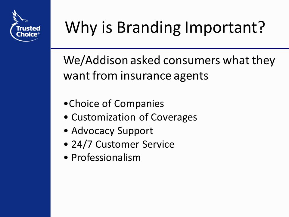 Why is Branding Important.