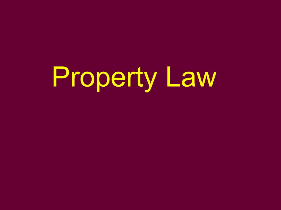 Limitations on the right of ownership in private law Law of neighbours Limited property rights Obligatory relationships