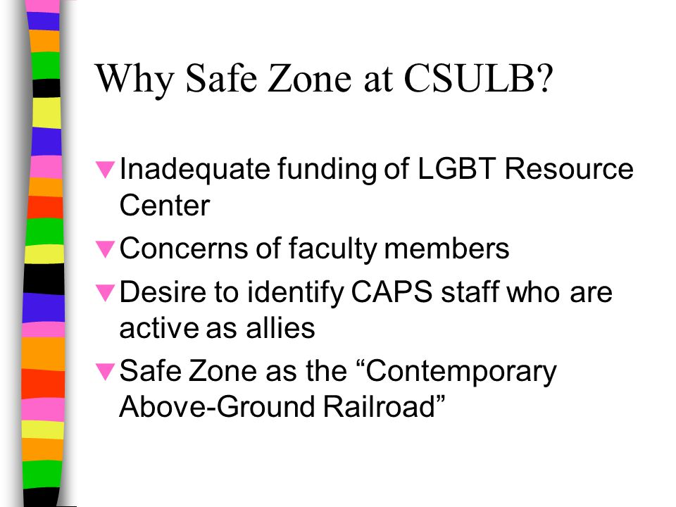Role of Safe Zone Ally  What is an Ally?