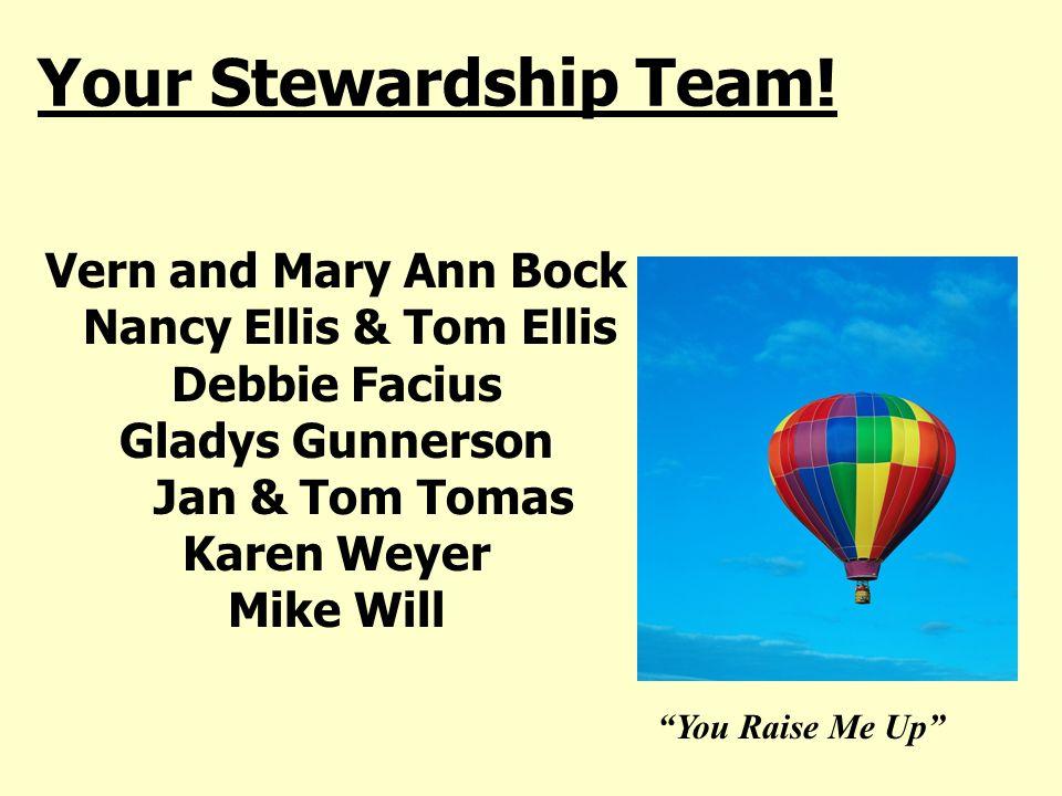 Your Stewardship Team.