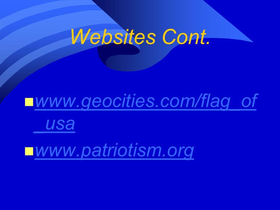 Websites Cont.