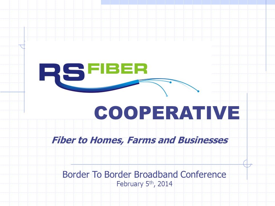 RS Fiber History In 2010, cities and two counties commissioned a Fiber To The Home/Farm feasibility study for a fiber network in all of Sibley County, the city of Fairfax and four townships around Fairfax.