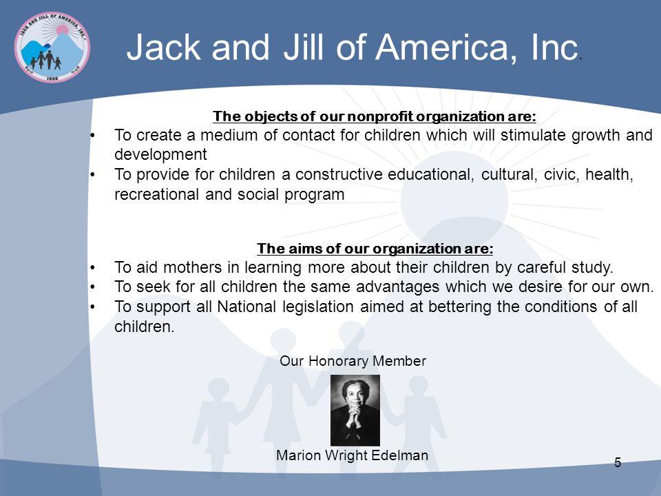 Jack and Jill of America, Inc.