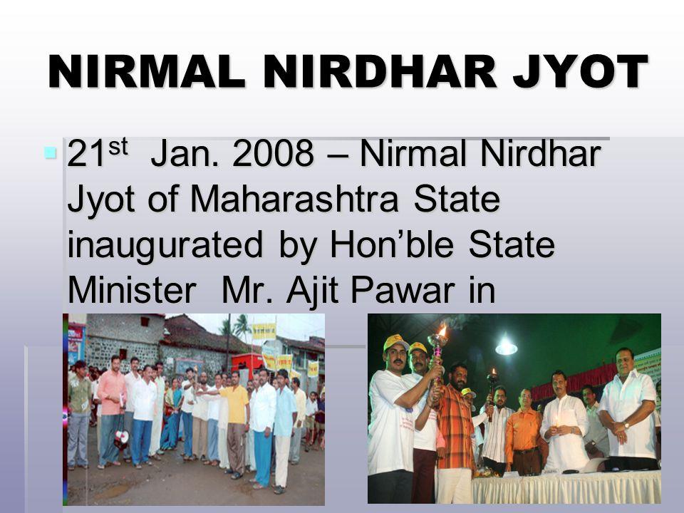 NIRMAL NIRDHAR JYOT  21 st Jan.