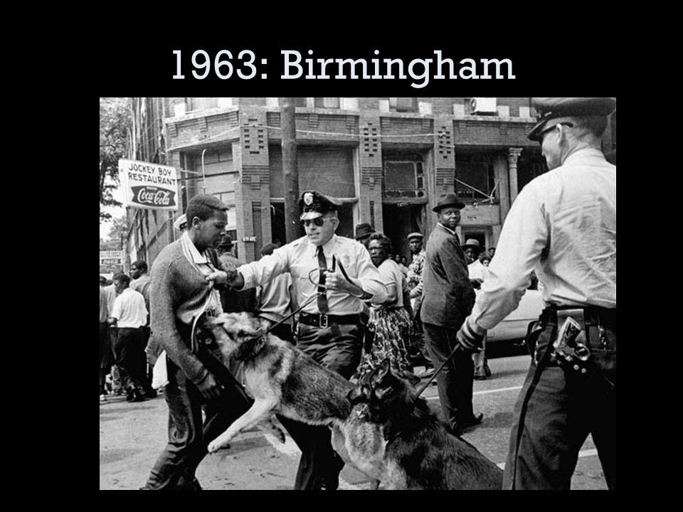 1963: Birmingham