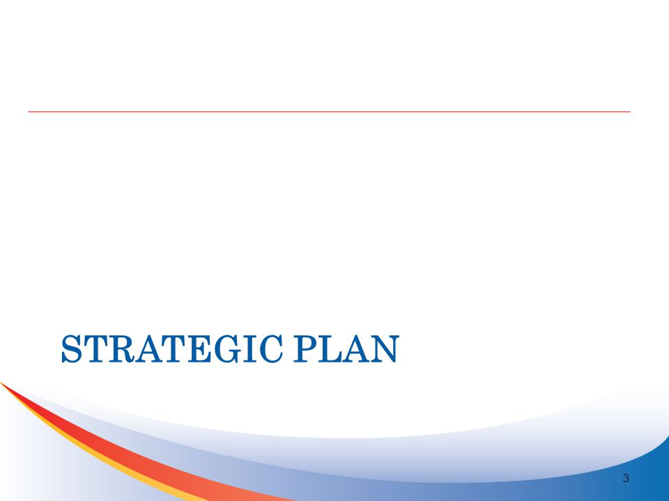 STRATEGIC PLAN 3