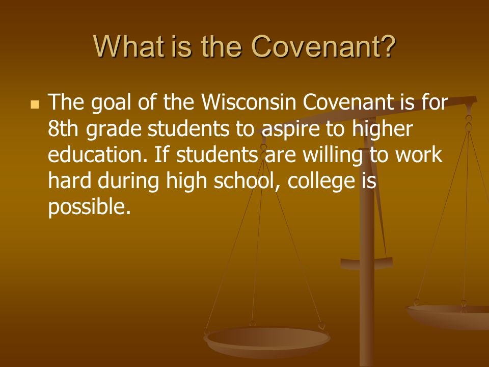 What is the Covenant.
