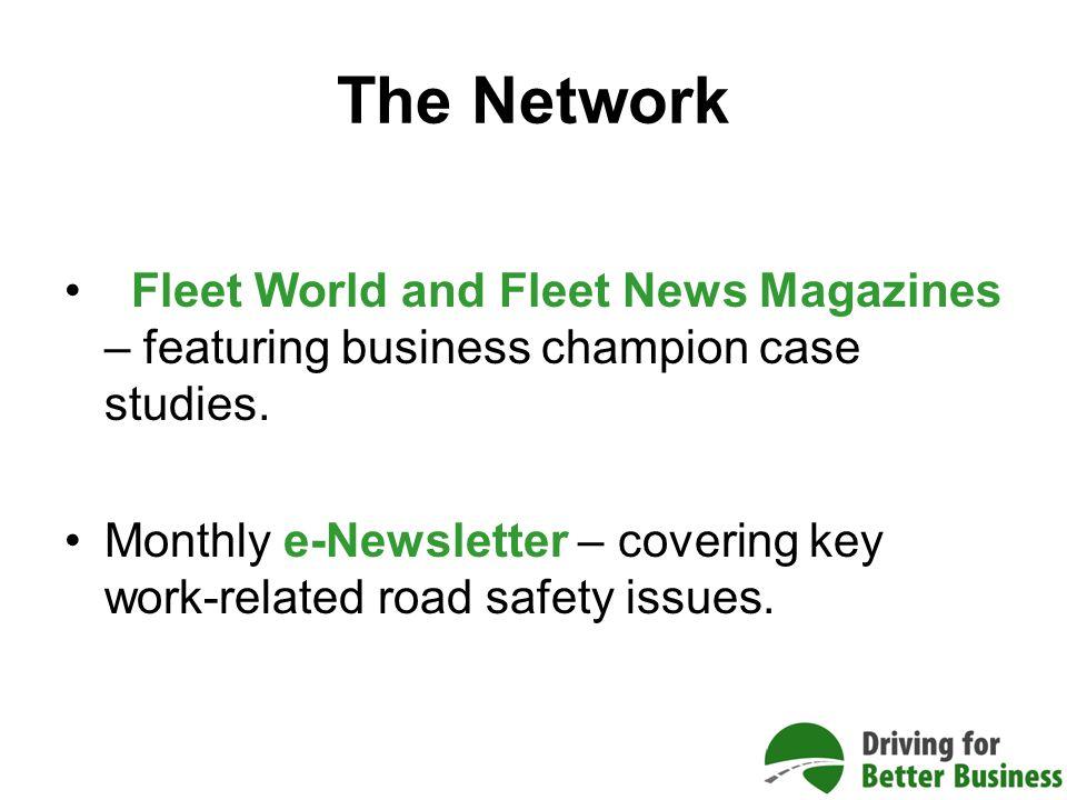 Fleet World and Fleet News Magazines – featuring business champion case studies.
