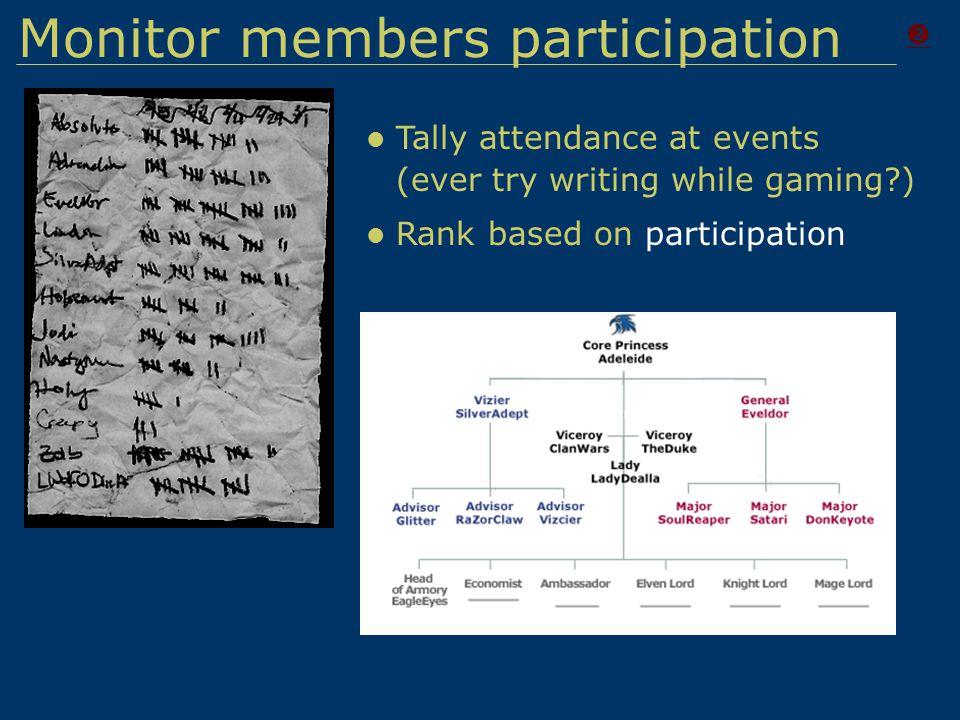 Monitor Member Stats