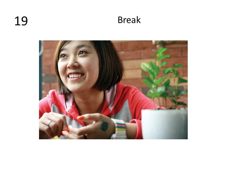 19 Break