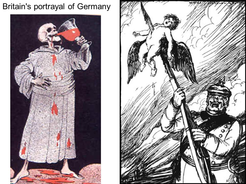 Britain s portrayal of Germany