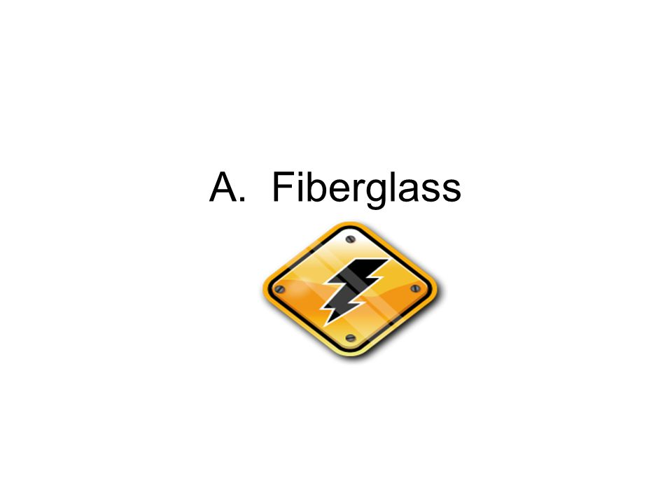 A.Fiberglass