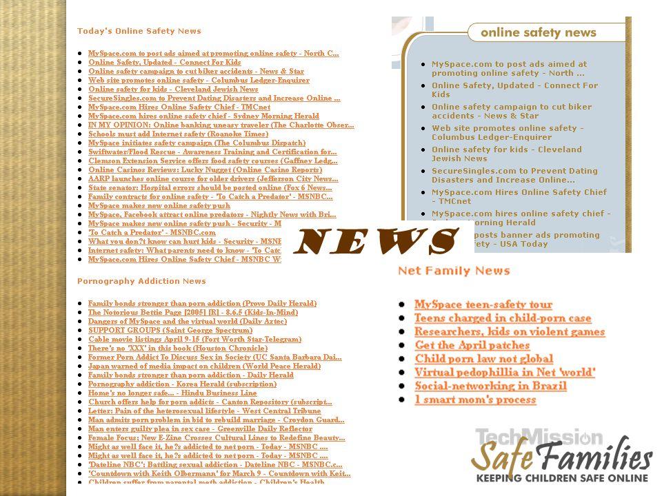 Website tour, news NEWS