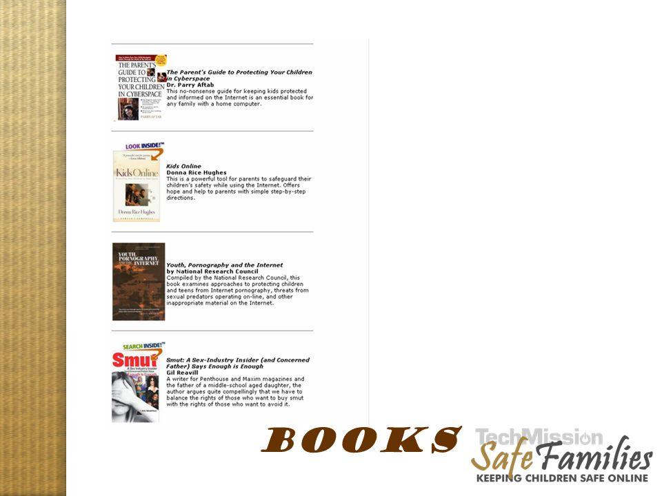 Website tour, books BOOKS