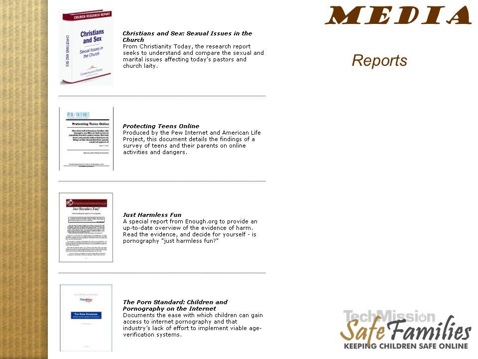 Website tour, media 1 MEDIA Reports
