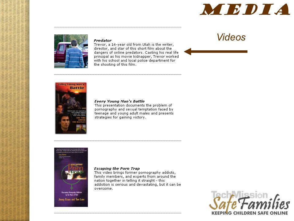 Website tour, media 2 MEDIA Videos