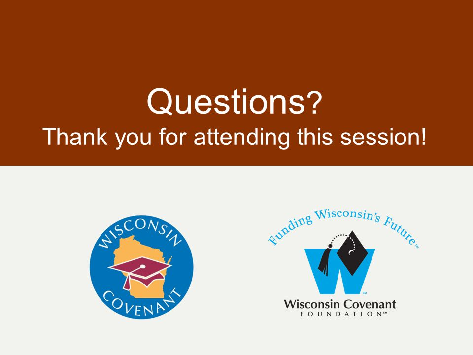 Questions ? Thank you for attending this session!