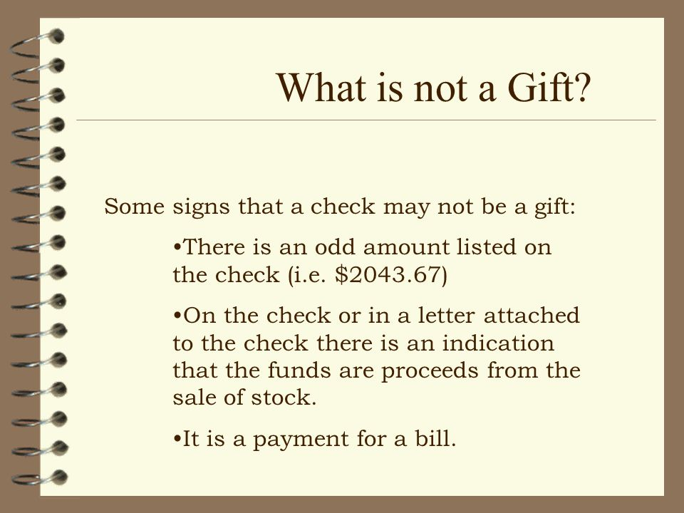 What is a Gift.