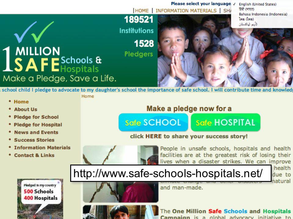 http://www.safe-schools-hospitals.net/