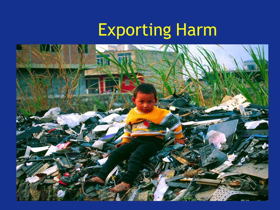 Exporting Harm