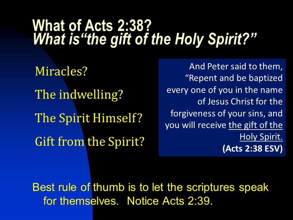 Slide 15 Galatians 3:13-14 Christ redeemed us from the curse of the Law, having become a curse for us…in order that in Christ Jesus the blessing of Abraham might come to the Gentiles, so that we would receive the promise of the Spirit through faith.