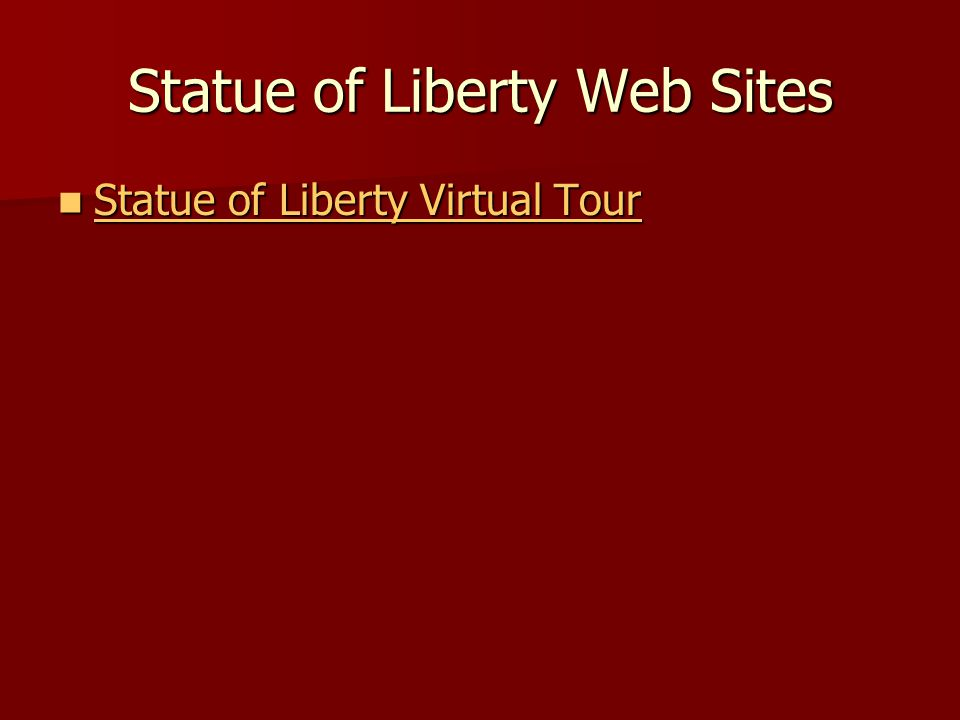 Statue of Liberty Web Sites Statue of Liberty Virtual Tour Statue of Liberty Virtual Tour Statue of Liberty Virtual Tour Statue of Liberty Virtual Tou