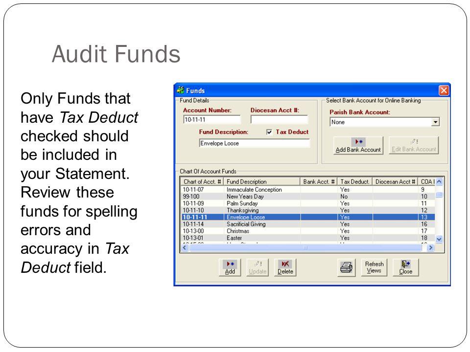 Contribution Reports Click on ParishSOFT Reports > Contribution Reports Menu > Periodic Contribution Reports.