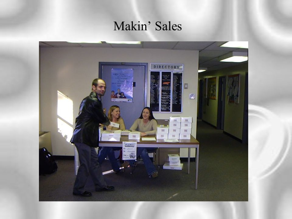 Makin' Sales