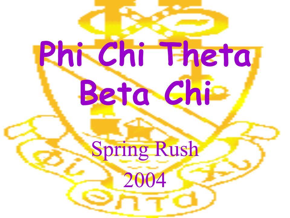 Phi Chi Theta Beta Chi Spring Rush 2004