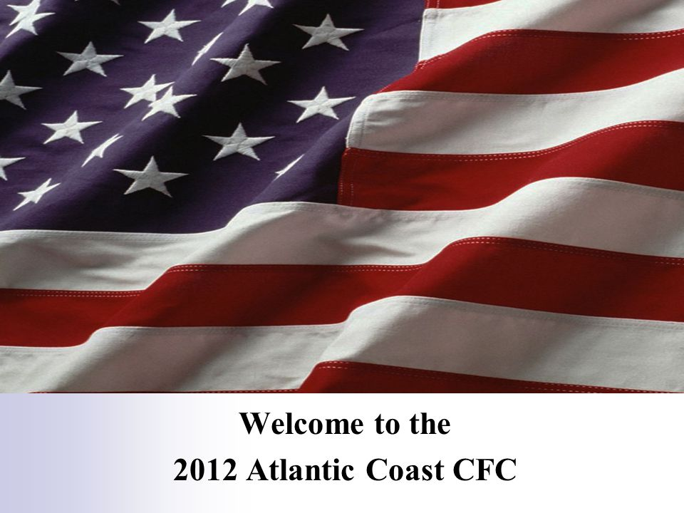 Welcome to the 2012 Atlantic Coast CFC