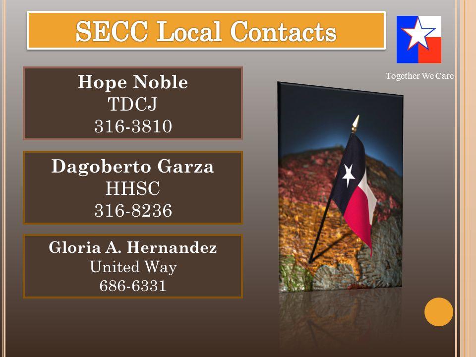 Hope Noble TDCJ 316-3810 Gloria A.