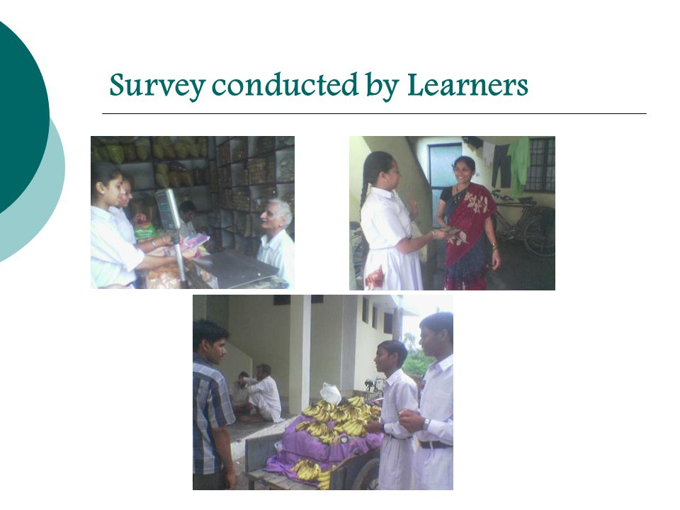 Survey conducted by Learners