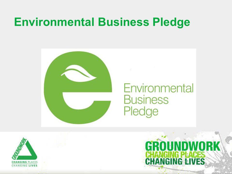 Environmental Business Pledge