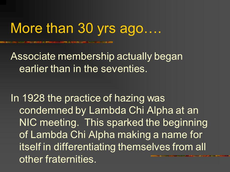 Associate Member Foundations Subtle double standards do not exist.