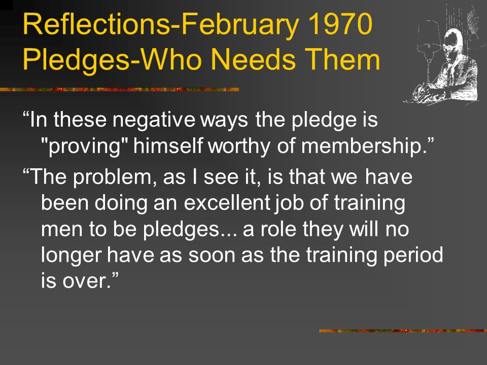 Reflections-June 1978 Endangered Species We intend to do everything possible to rid ourselves of this cancer, or these chapters will face a limited future. Clearly, we are far beyond the point of trying to educate the members of such chapters.