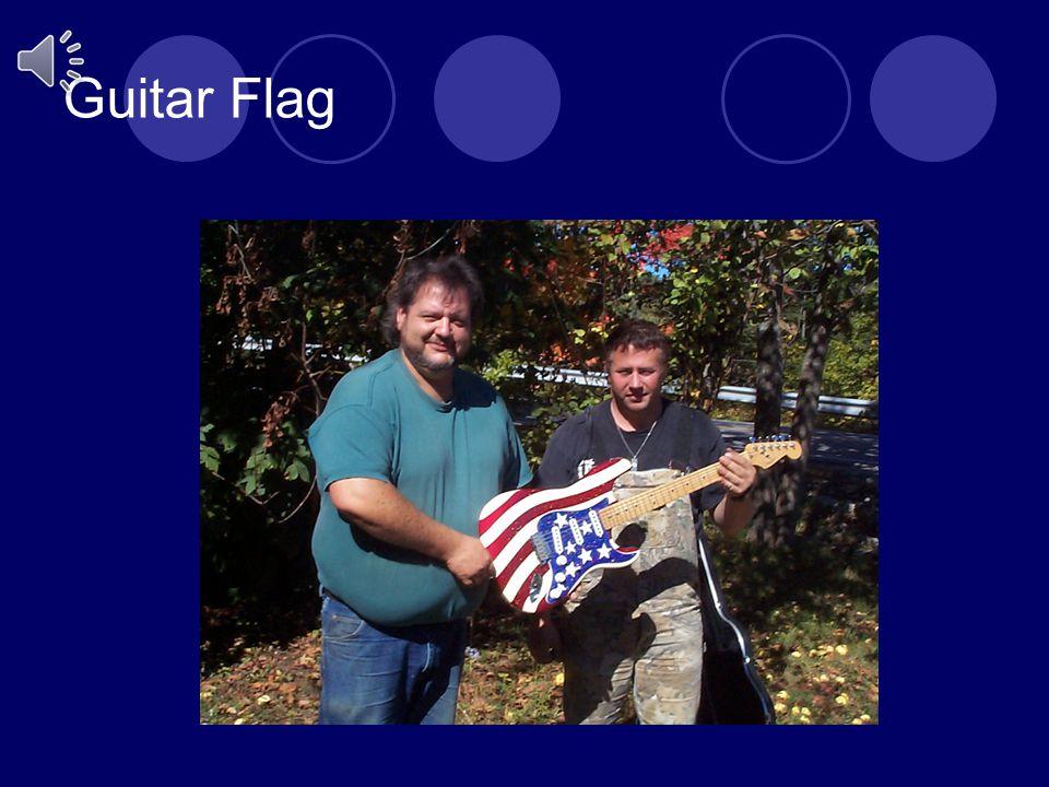 Guitar Flag