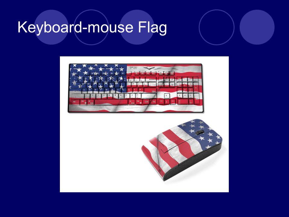 Keyboard-mouse Flag