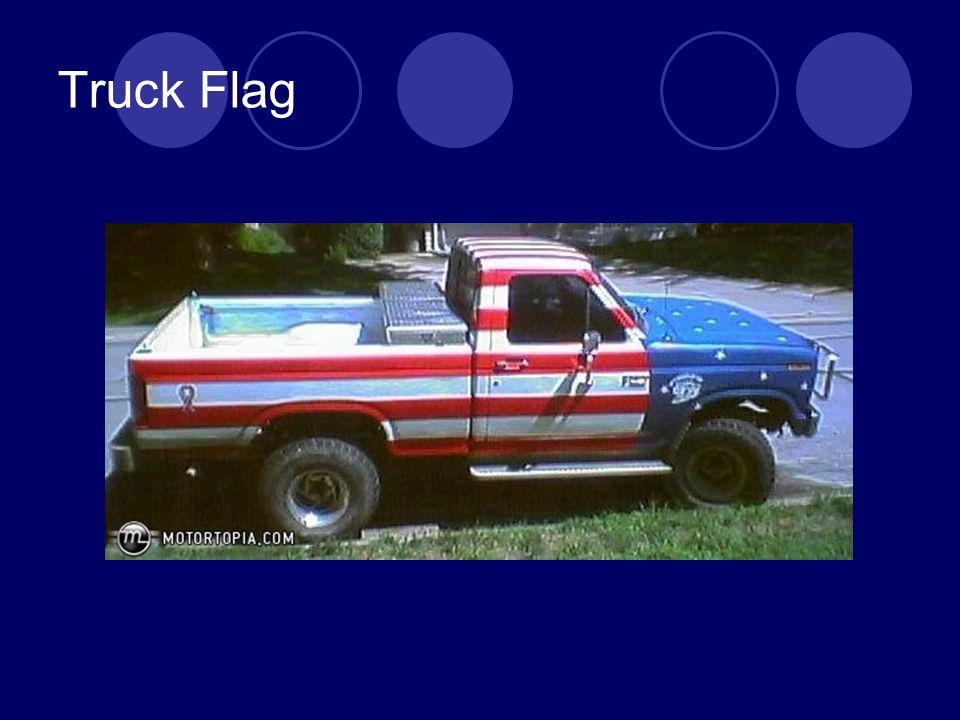Truck Flag