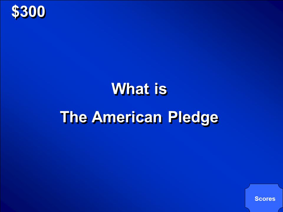 © Mark E. Damon - All Rights Reserved $300 This pledge should always come Before the 4-H Pledge This pledge should always come Before the 4-H Pledge