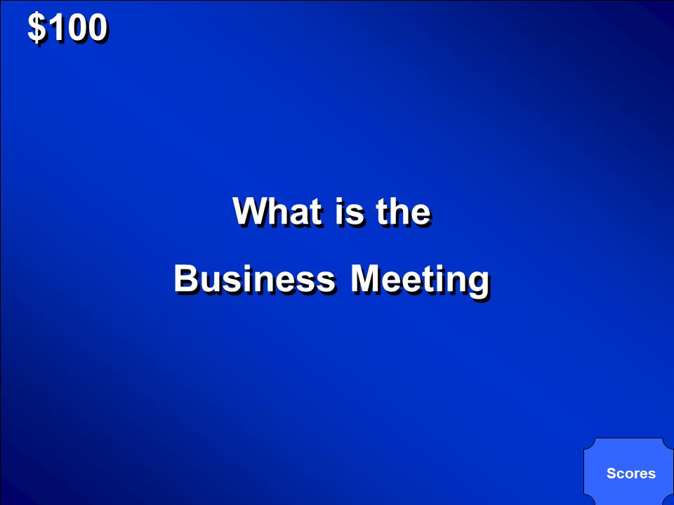© Mark E. Damon - All Rights Reserved $100 The Meeting Element of Group Decision Making includes this. The Meeting Element of Group Decision Making in