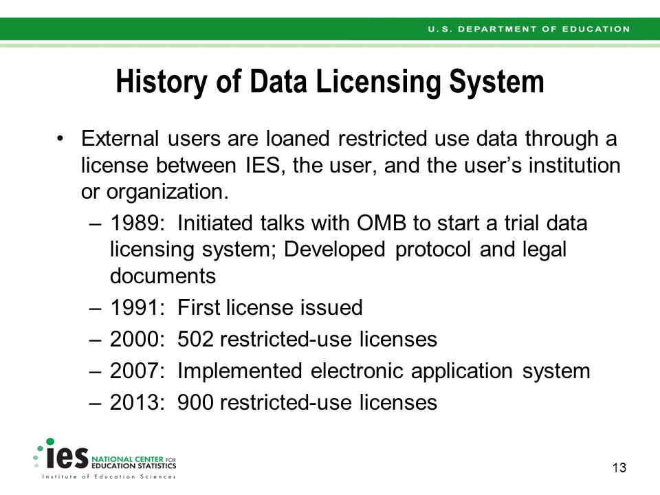 What Does a Data License Involve.