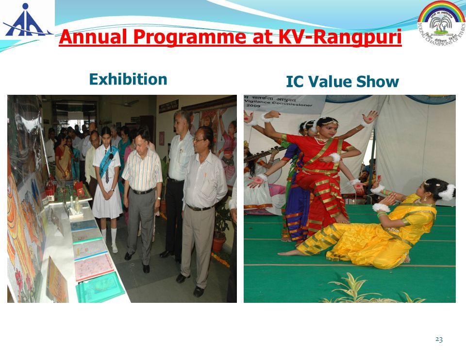 Annual Programme at KV-Rangpuri Exhibition IC Value Show 23