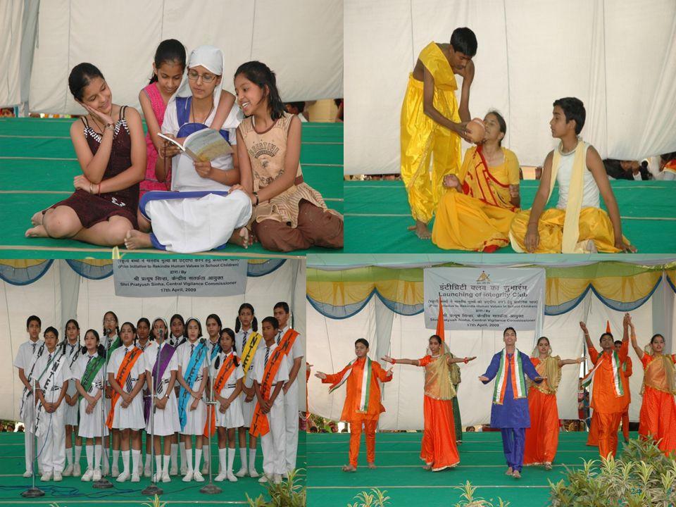 Annual Programme at KV- Rangpuri Cultural Show 24
