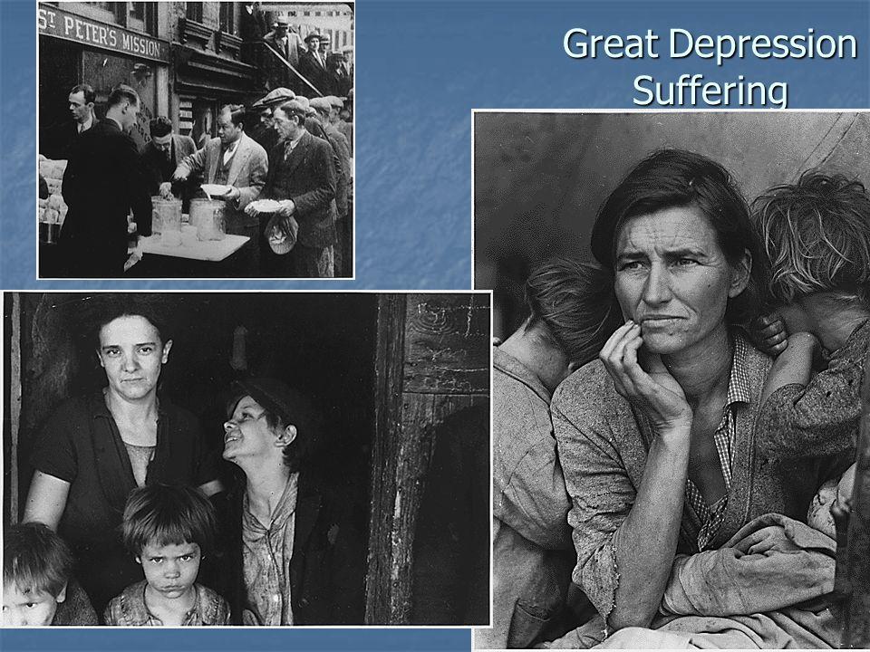 Great Depression Suffering