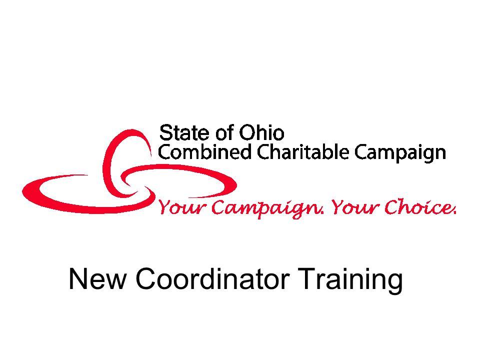 New Coordinator Training