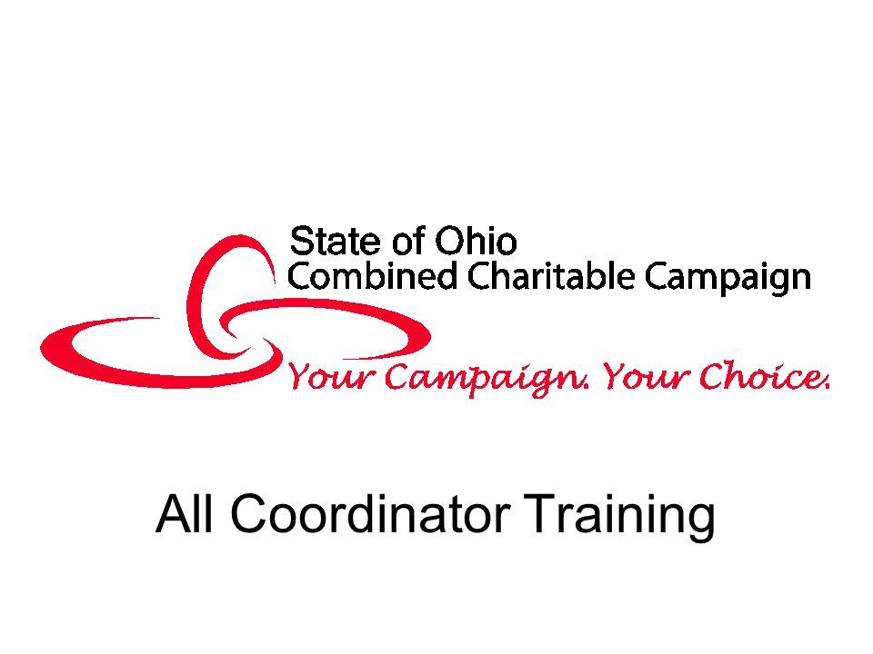 All Coordinator Training