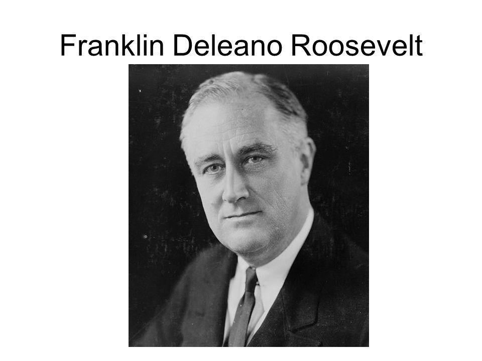 Franklin Deleano Roosevelt