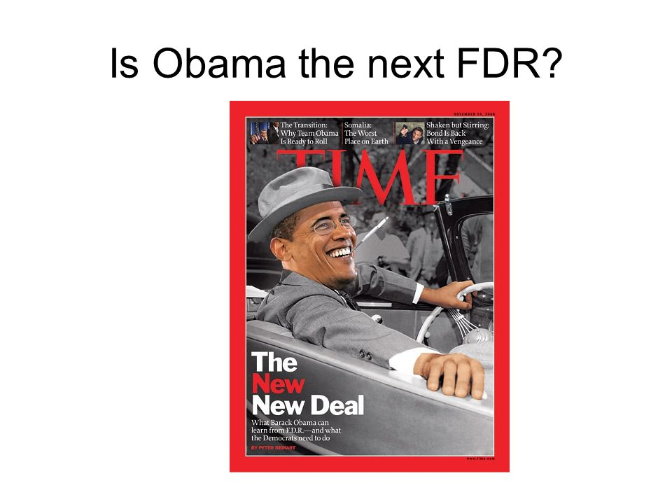Is Obama the next FDR