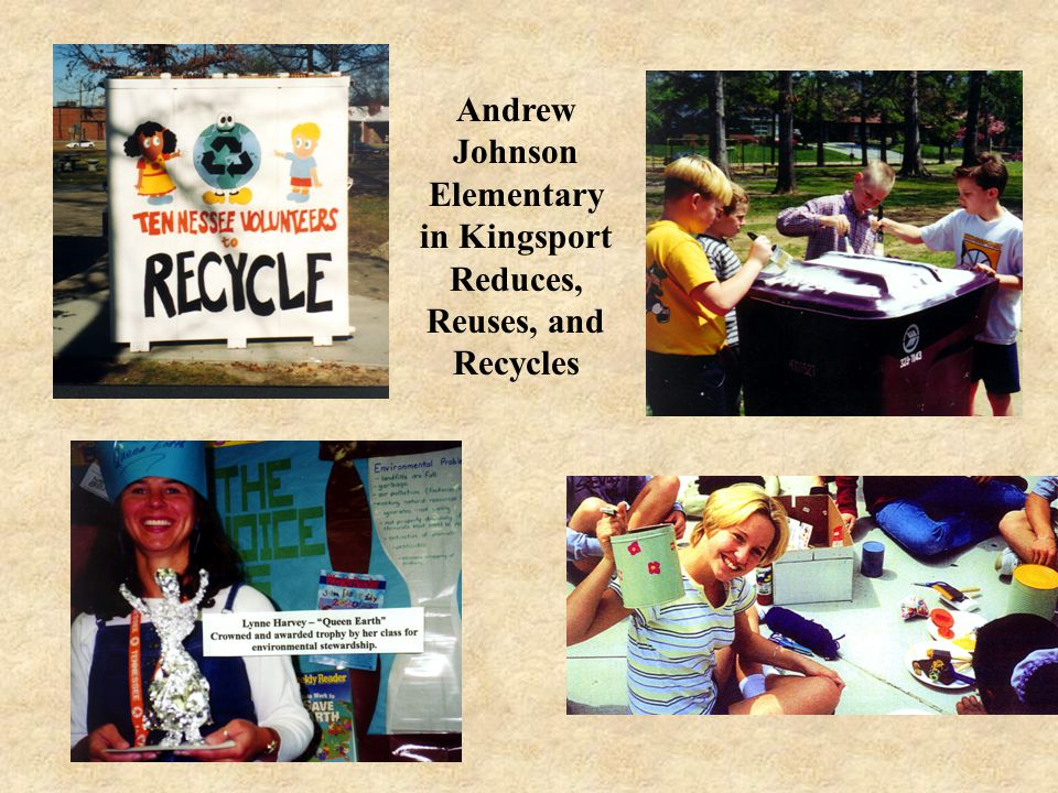 Andrew Johnson Elementary in Kingsport Reduces, Reuses, and Recycles